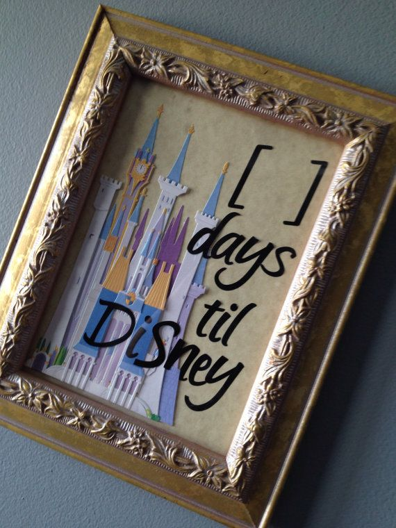 Disney Vacation Countdown!! I would like to start counting down a Disney vacation again!!  Maybe Disneyland or a Disney Cruise!