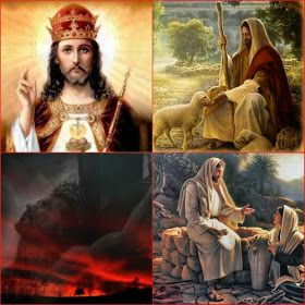 JEZUS en MARIA Groep.: JEZUS KONING DER KONINGEN: CHRISTUS KONING