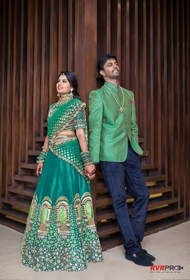 This love story is nothing short of a Bollywood movie. The Boy meets the girl at his sister's wedding, and she turns out to be his sister's colleague and friend. Pavan Chaitanya Vallabhaneni and Le...