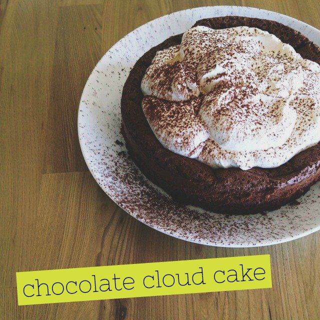Get in your belly: Chocolate Cloud Cake - Fat Mum Slim