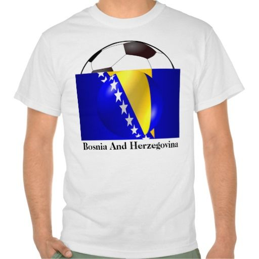 Sold this as a world cup souvenir Bosnia And Herzegovina #Flag #Tshirts