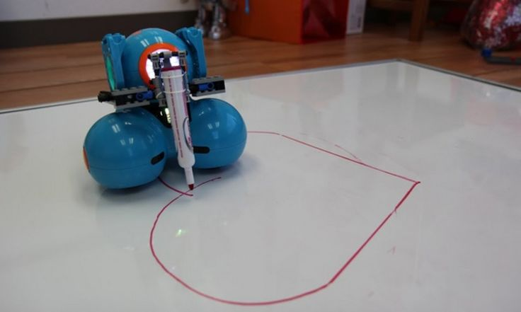 Wonder Workshop's Dash robot- ages 5 and up programmable robot, teaches coding, angles, math, distance, measurement, engineering, music, art, stories and more! We love this robot! WAY better than a plain RC car.