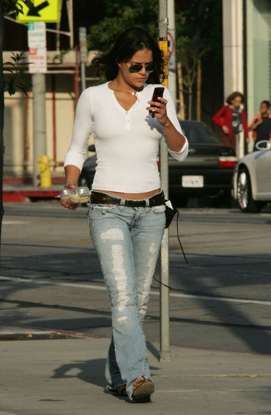 Michelle Rodriguez, returning my call. ;)