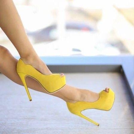 #pantoficutoc #pantofi pantofi cu toc galbeni