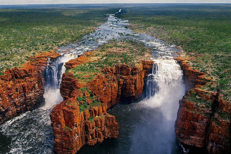 King George Falls, The Kimberley region in Australia's west.