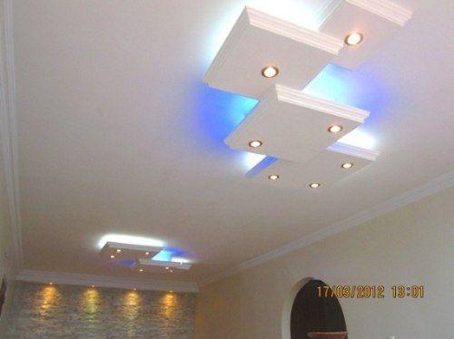 Molduras y techos en yeso y drywall 2099 mlv38835845 9422 for Techos planos modernos