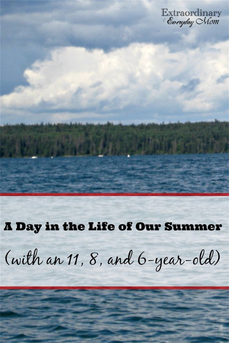 A look at one family's summer days