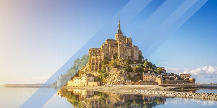 Chemin de St Jacques: Via Normande: Dieppe – Rouen – Le Mont-St-Michel