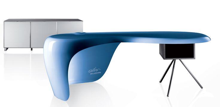 Desk Collection Uno by Della Rovere, Designer Karim Rashid