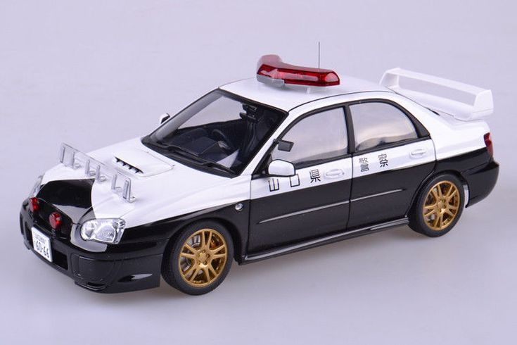 Autoart 1:18 Subaru Impreza WRC STI Japanese Police Diecast Model Car Alloy #Subaru #Autoart