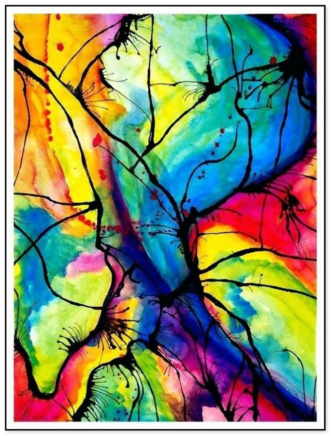 44 Easy Watercolor Painting Ideas Abstract Art Projects Watercolor Art Lessons Abstract