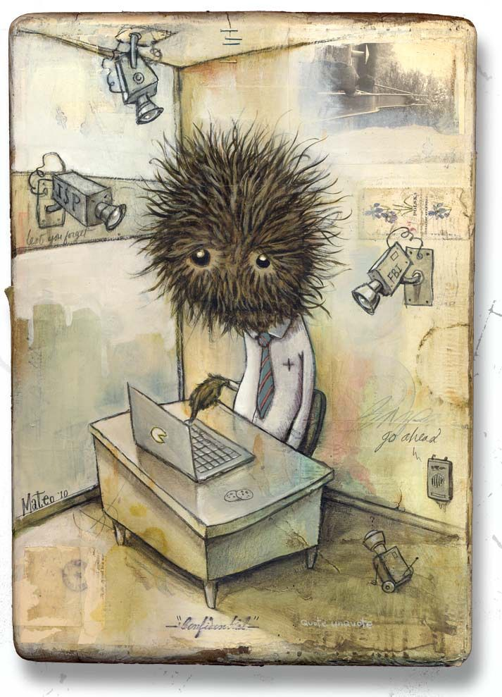 Mateo Dineen - Illustration - Monster - 2010