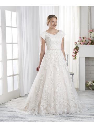 abiti da sposa abito da ballo elegante pizzo