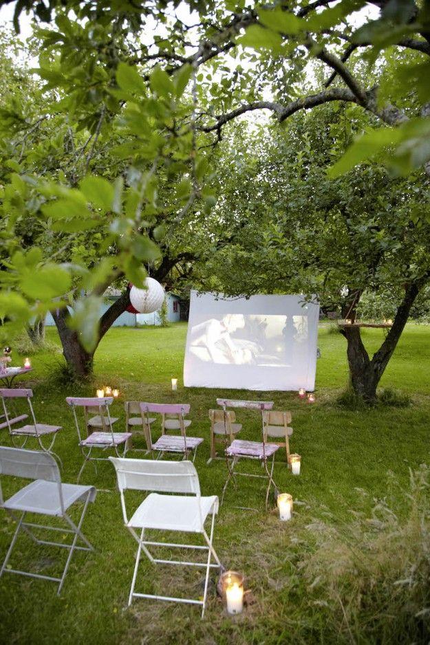 Raus mit Euch – ab ins private Outdoor Kino | tastesheriff
