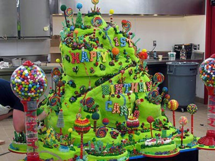 Coolest birthday cake ever! Sick! Food Nation ...