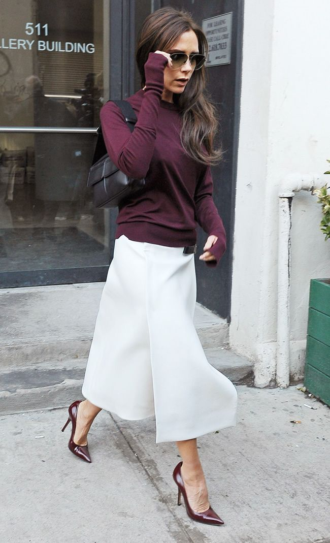 Top and skirt, I like. Possibly not that purple color.  Also, I'm not a fan…