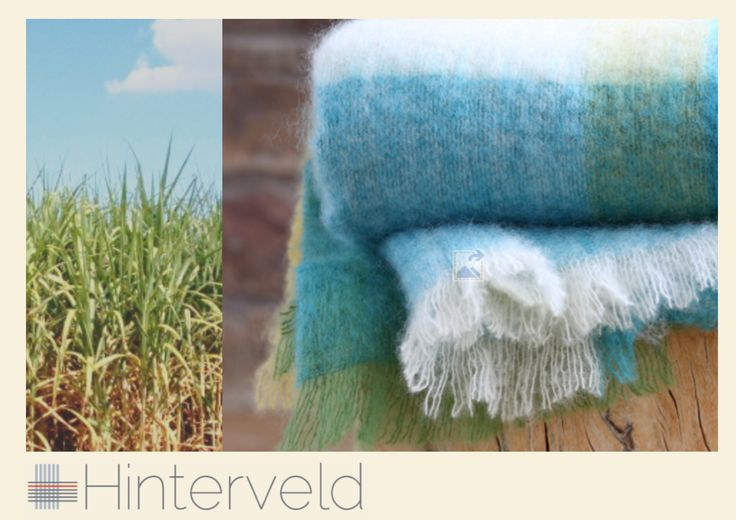 Beautiful Story - Sugar Field design This Soft Luxurious Mohair Throw produced by Hinterveld