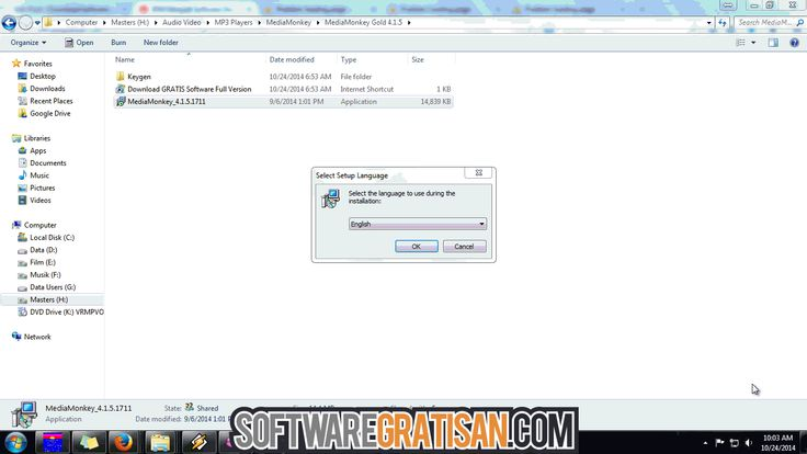How to Install MediaMonkey Gold 4.1.5 with Keygen - Bagaimana cara install MediaMonkey Gold 4.1.5 supaya menjadi full version menggunakan keygen? lihat gambarnya, download softwarenya di: http://softwaregratisan.com/download-mediamonkey-gold-4-1-5-keygen-free-full-version.html