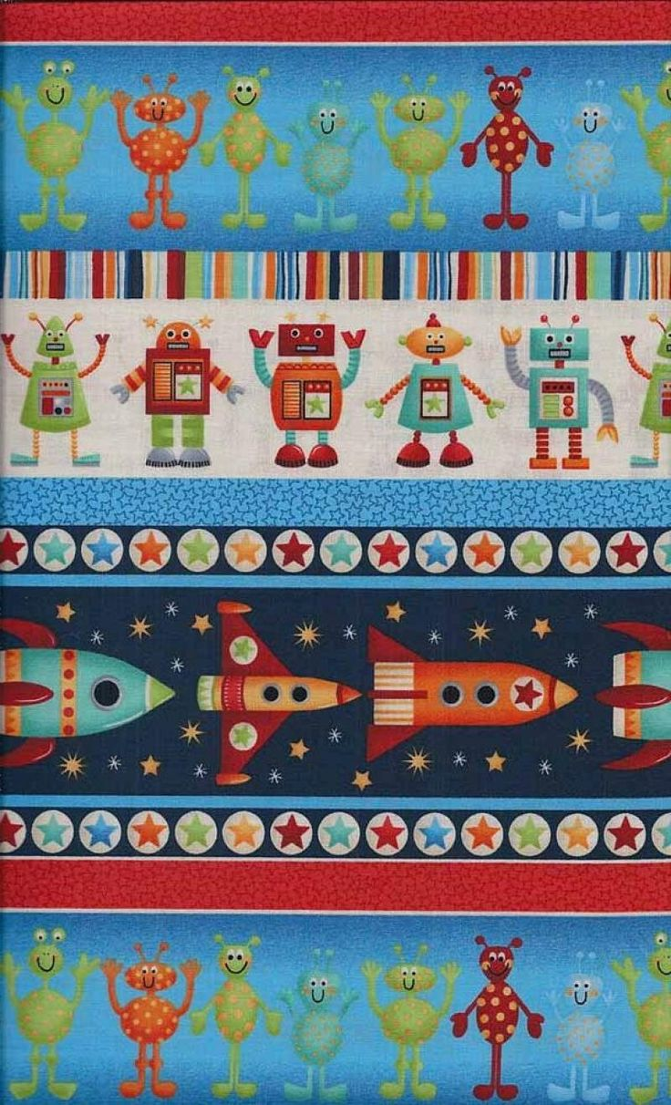 117 best juvenile quilting fabrics images on pinterest for Kids space fabric