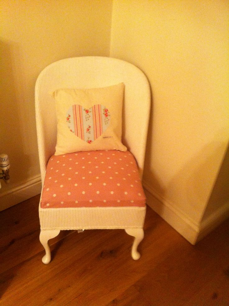 Nursery lloyd loom chair