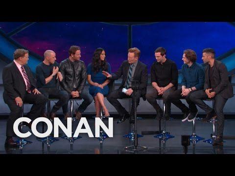 """The """"X-Men: Apocalypse"""" Cast's Violent Games  - CONAN on TBS"""