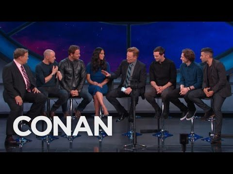 "CONAN360: The Cast Of ""X-Men: Apocalypse"" On Their Mutant Wardrobe - YouTube"
