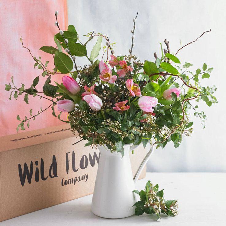 wild flowers arrangement by wild flowers company | notonthehighstreet.com