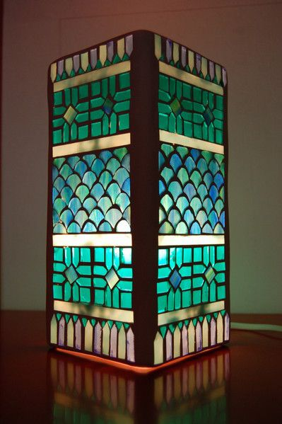 glass mosaic lamp More