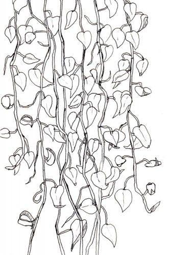 Hanging Plant Tattoo