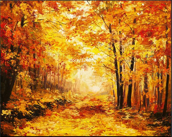 2016 new diamond painting diamond embroidery  autumn  fallen leaves cross stitch for square diamond painting #Affiliate