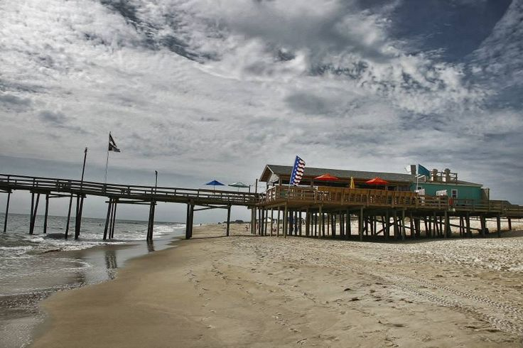 17 best images about piers on the outer banks of nc on for Fishing outer banks nc