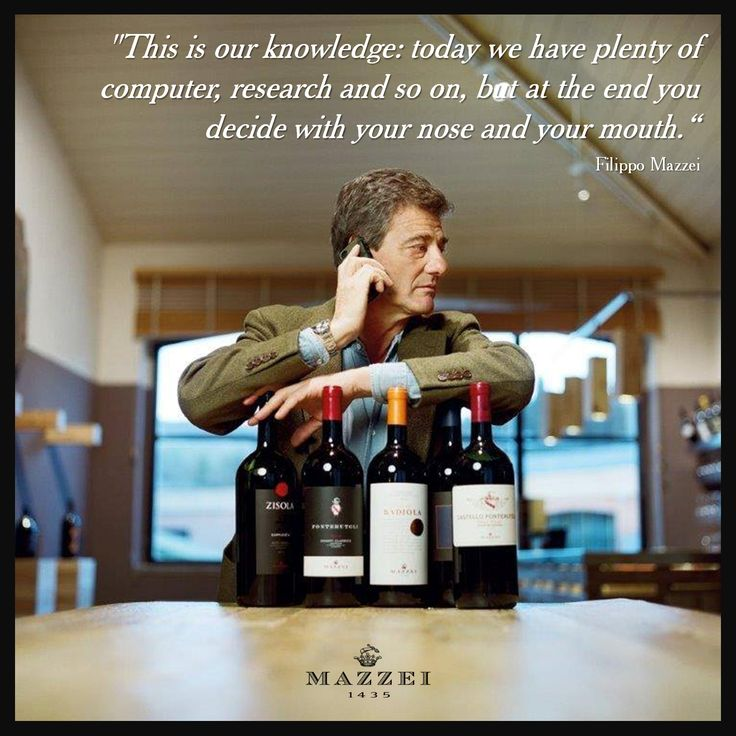 """Filippo Mazzei about winemaking: """"This is our knowledge: today we have plenty of computer, research and so on, but at the end you decide with your nose and your mouth."""" Filippo Mazzei @marchesimazzei #mazzei #fonterutoli #tuscany #wine"""