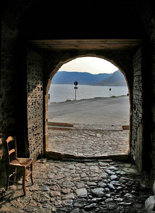 Entrance & Exit ~ Monemvasia, Lakonia