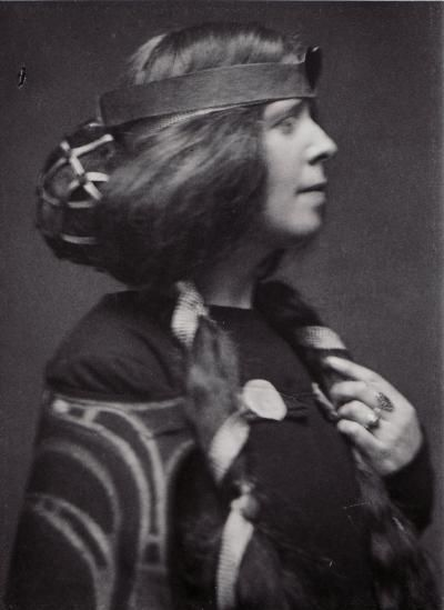 Portrait of Margaret Macdonald Mackintosh, 1893~Image courtesy The Glasgow School of Art's archives
