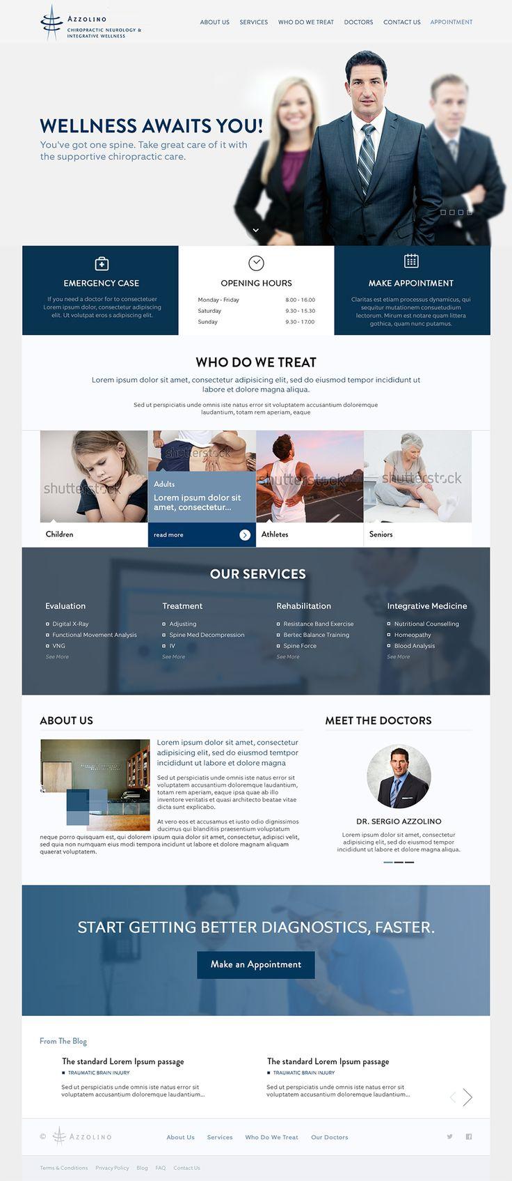 Chiropractic Clinic Website