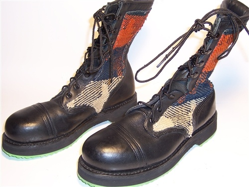 Addison Shoe Co. Women's Leather Steel Toe Boots USA Size 6.5M. Check out this great website for cheap shoes and boots!