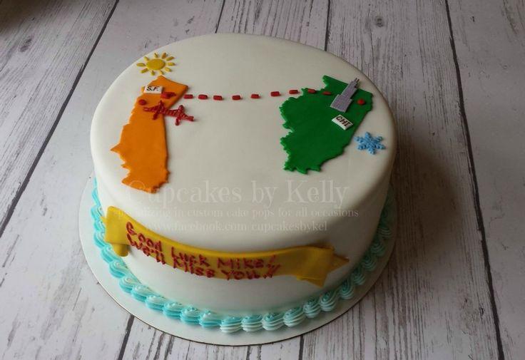 Bon Voyage / Farewell cake