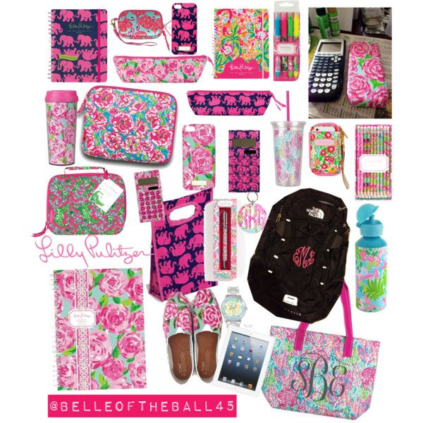 A fashion look from August 2013 featuring Lilly Pulitzer, The North Face backpacks and Lilly Pulitzer clutches. Browse and shop related looks.