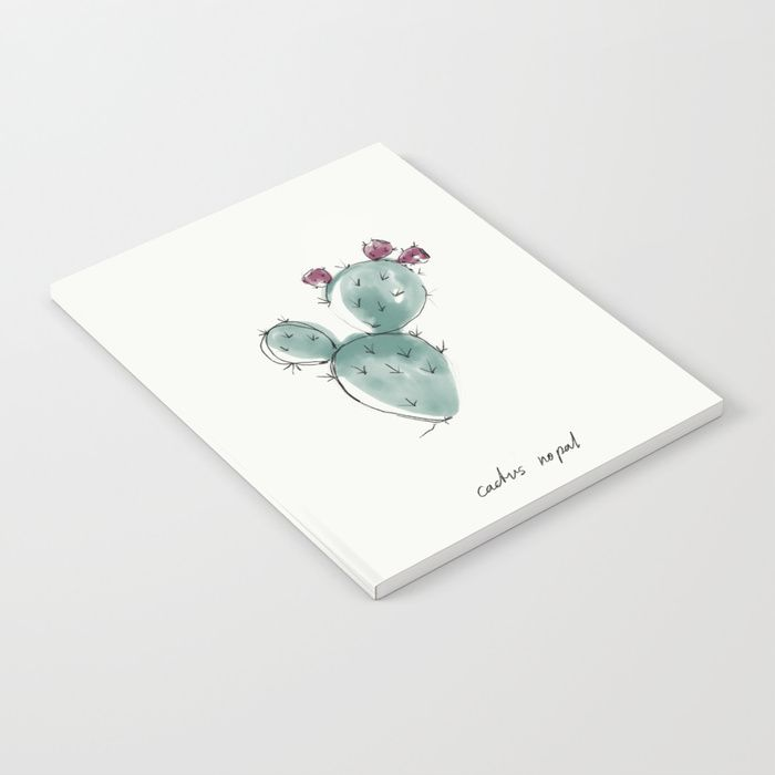 Buy CACTUS NOPAL Notebook by nadinebatista. Worldwide shipping available at Society6.com. Just one of millions of high quality products available.