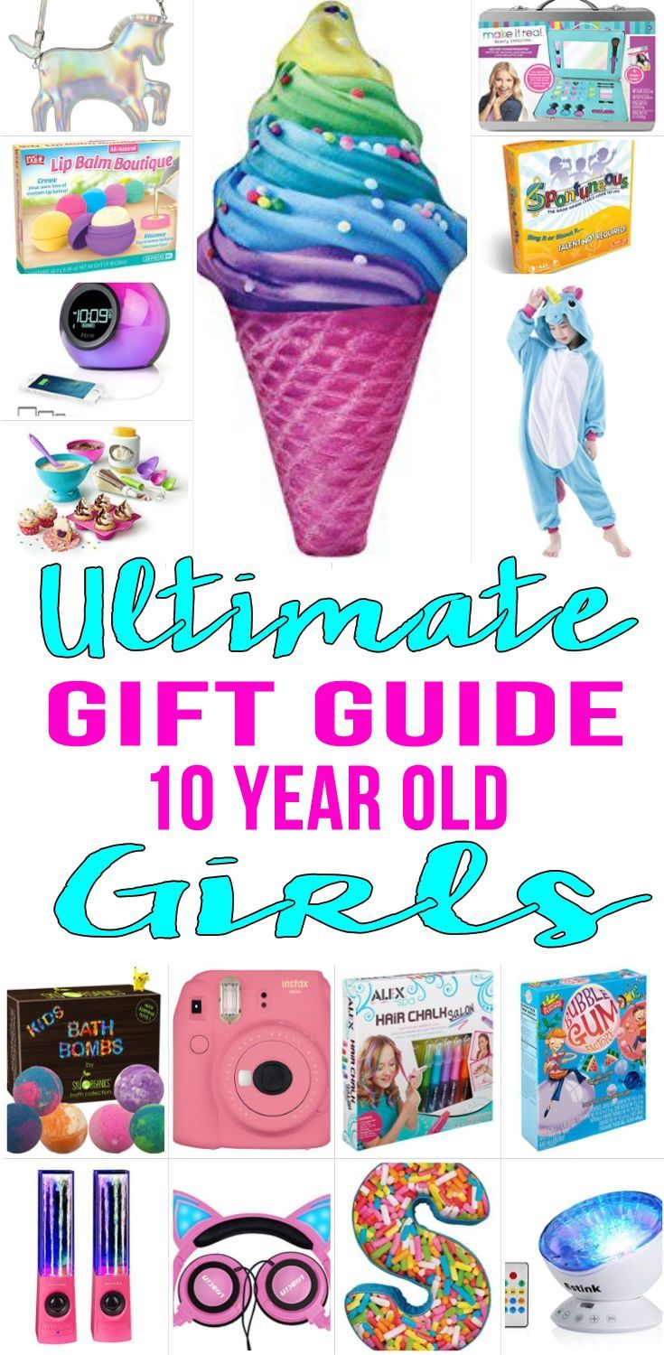 Best Gifts For 10 Year Old Girls | Gift Ideas | Christmas, Gifts ...