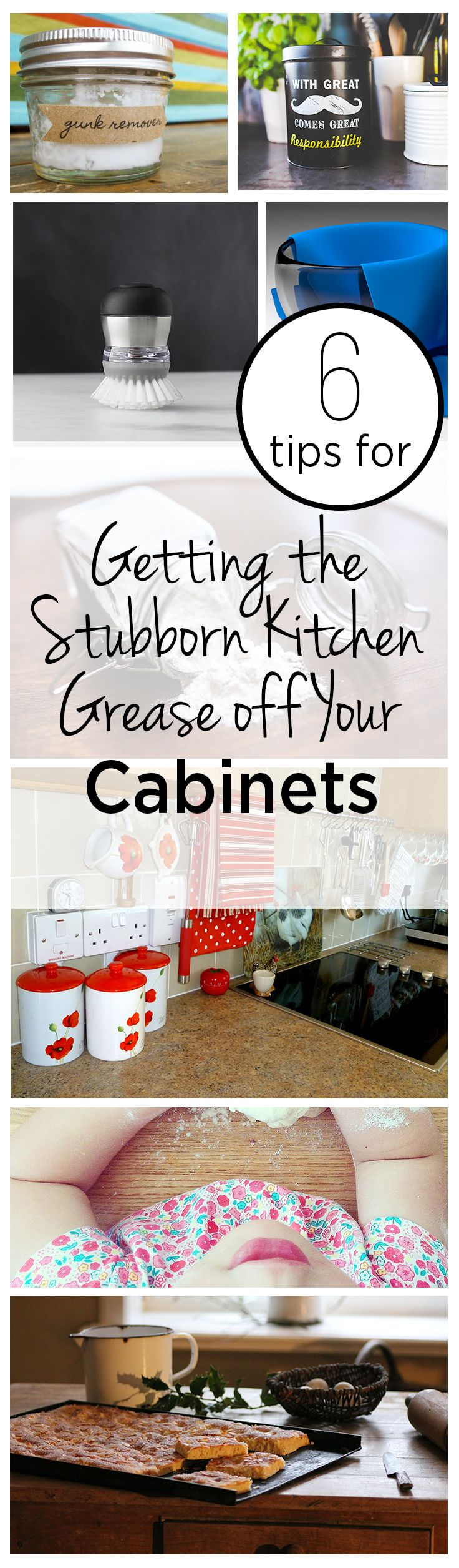 6 Tips for Getting the Stubborn Kitchen Grease off Your Cabinets