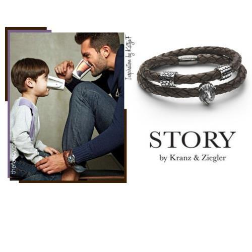 Men's Bracelet by Story by Kranz and Ziegler