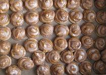 Karamelové točené špičky