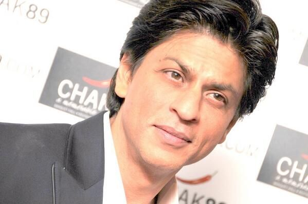 Embedded image permalink-Another picture for you SRK fans as Shah Rukh's team Kolkata Knight Riders have been playing well recently. CHAK89