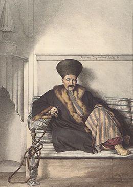 Ο Ι. Λογοθέτης προύχοντας της Λιβαδειάς.