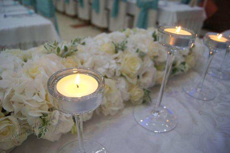It is magic day: White, aquamarine and white...