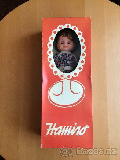 Retro panenka Hamiro - chodící a mluvící - original balení - 1
