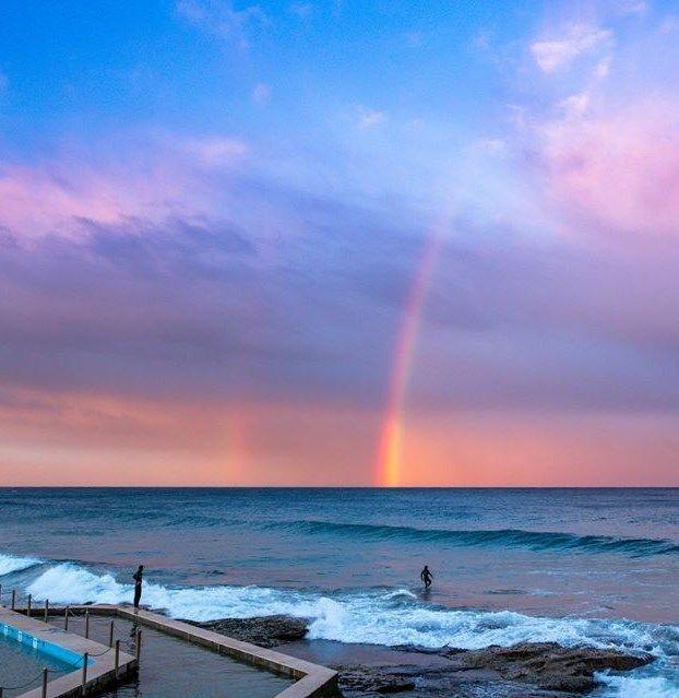 South Curl Curl Beach. Sydney Australia #sydney #australia #travel