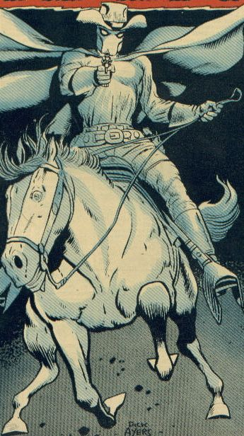 """Carter Slade, the Phantom Rider based on the Stan Jones song """"Ghost Riders in the Sky"""""""