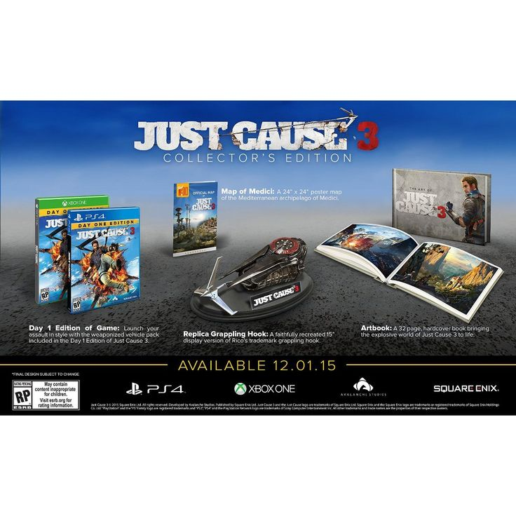 Just Cause 3: Collector's Edition (PlayStation 4)
